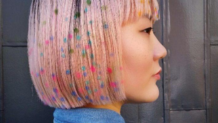 Włosy konfetti
